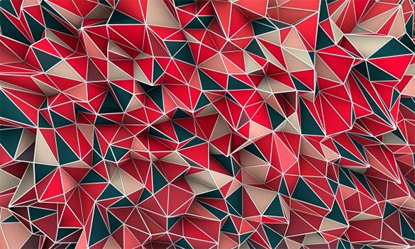 geometric pattern templates