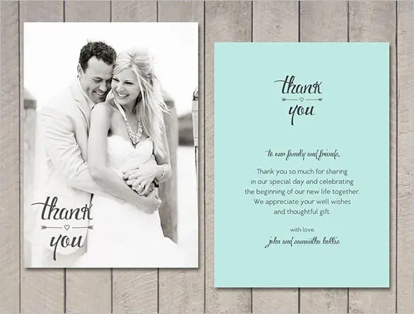 wedding thank you notes templates - Onwebioinnovate