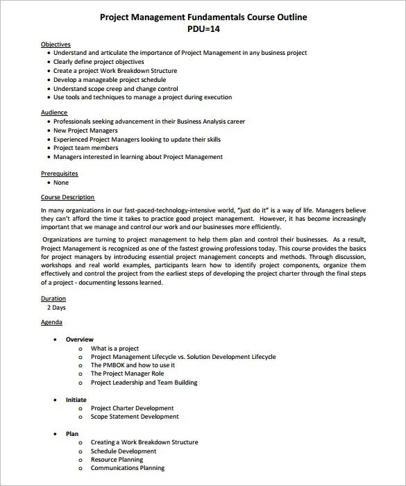 ... 8 Sample Project Plan Template Word Project Plan   Powerpoint   Free Project  Planner Template ...