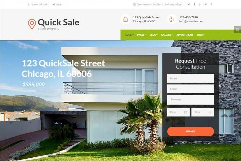 21+ Popular WordPress Real Estate Themes  Designs Free  Premium