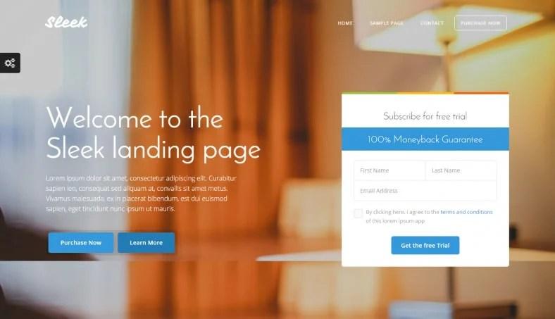 12+ Popular Bootstrap Landing Page Templates Free  Premium Templates