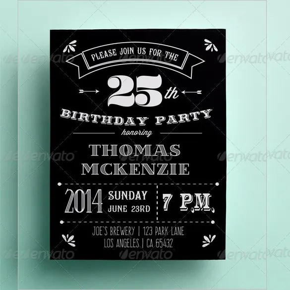Invitation Card Template - 27+ Free Sample, Example Format Download