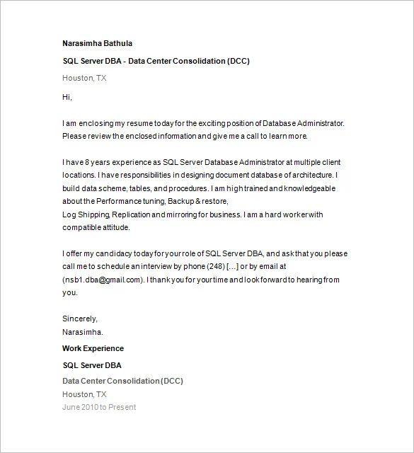 sql server dba sample resume