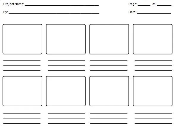 6+ Education StoryBoard Templates - DOC, PDF Free  Premium Templates