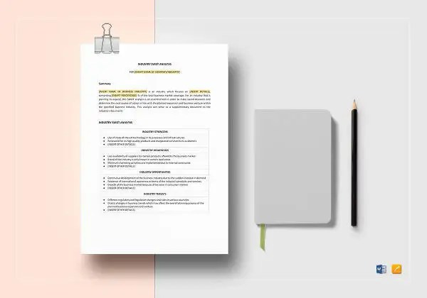 Blank SWOT Analysis Template - 12+ Free Word, Excel, PDF Documents - blank swot analysis template