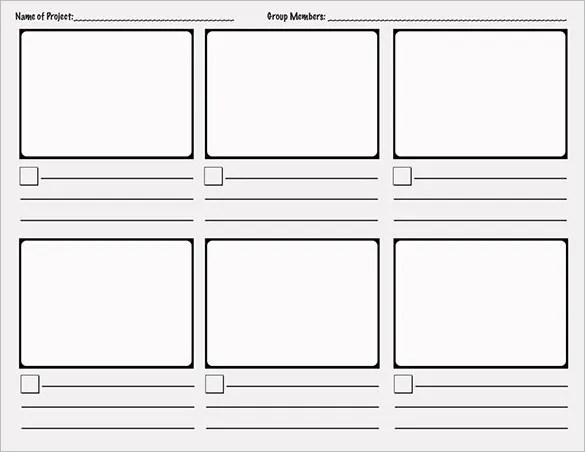 Comic Storyboard Template u2013 10+ Free Sample, Example, Format - free storyboard templates