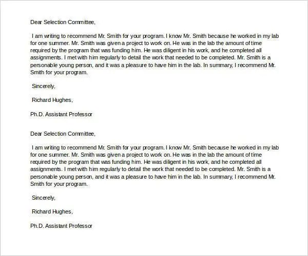 22+ Recommendation Letters for a Friend - Free Sample, Example - example recommendation letter for employee