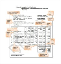 Invoice Template - 47+ Free Word, Excel, PDF, PSD Format ...