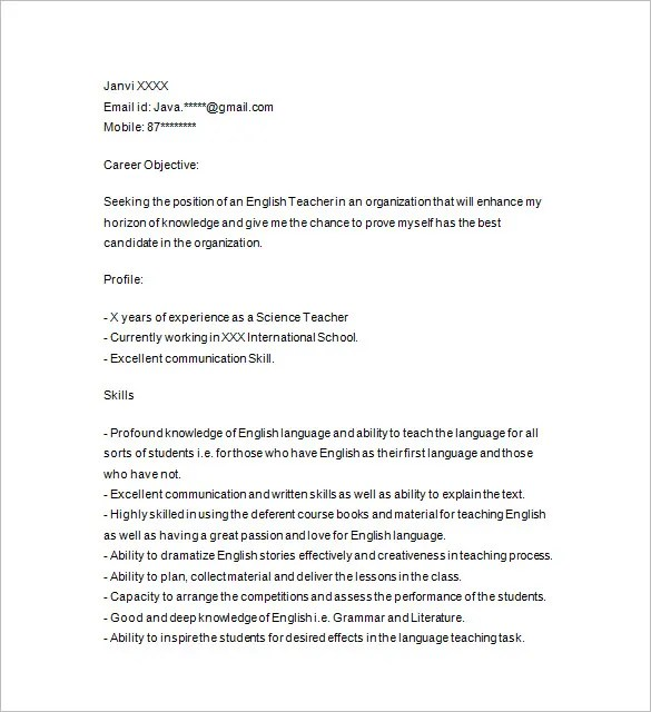 Avoiding the Five Most Common Problems with Research Papers - personal tutor sample resume