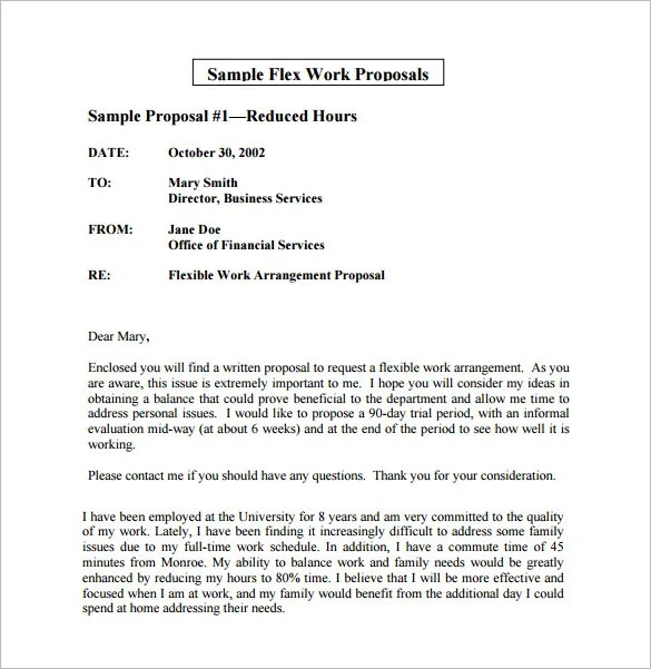 Work Proposal Template u2013 10+ Free Sample, Example, Format Download - work proposal