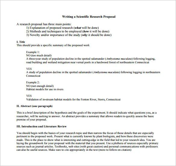 research proposal template apa format