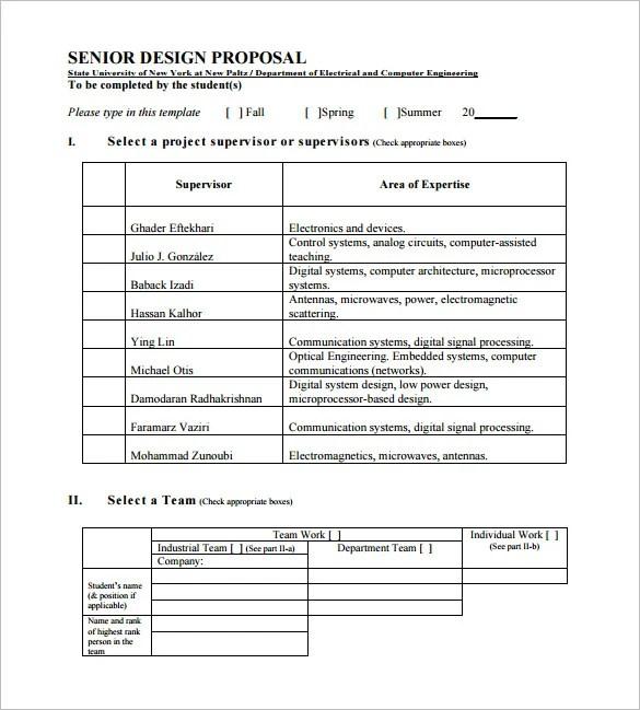 24+ Design Proposal Templates - Word, PDF, Pages Free  Premium