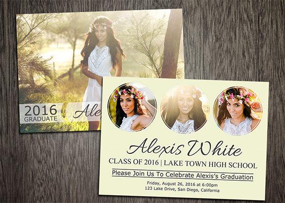 9+ Graduation Card Templates - PSD, AI, EPS Free  Premium Templates - print grad cards