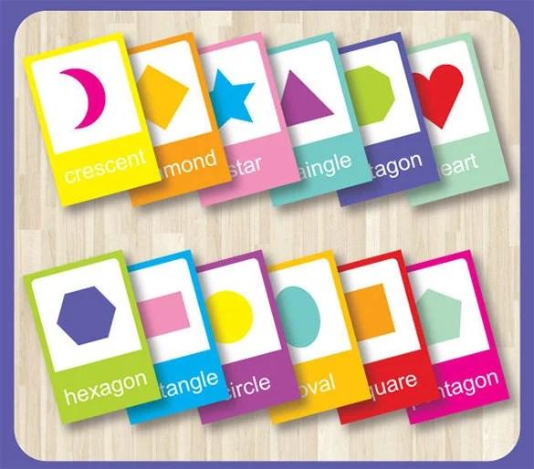 Flash Card Template u2013 13+ Free Printable Word, PDF, PSD, EPS - flash card template
