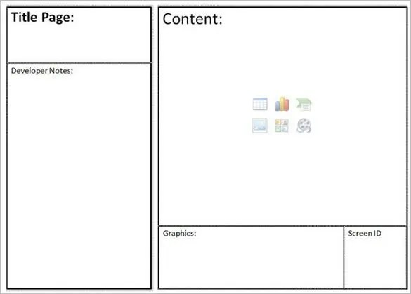 6+ Website StoryBoard Templates - DOC, PDF Free  Premium Templates