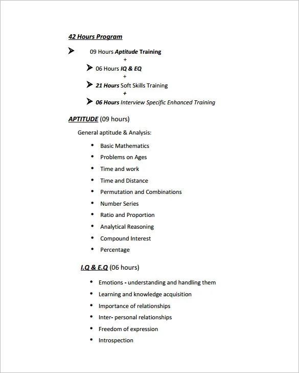 Training Proposal Templates - 32+ Free Sample, Example, Format