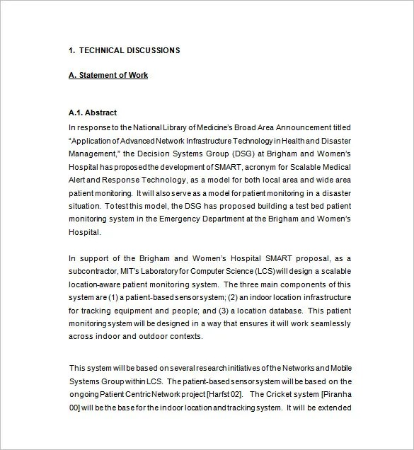 Business Proposal Sample Word Document – Business Proposal Document