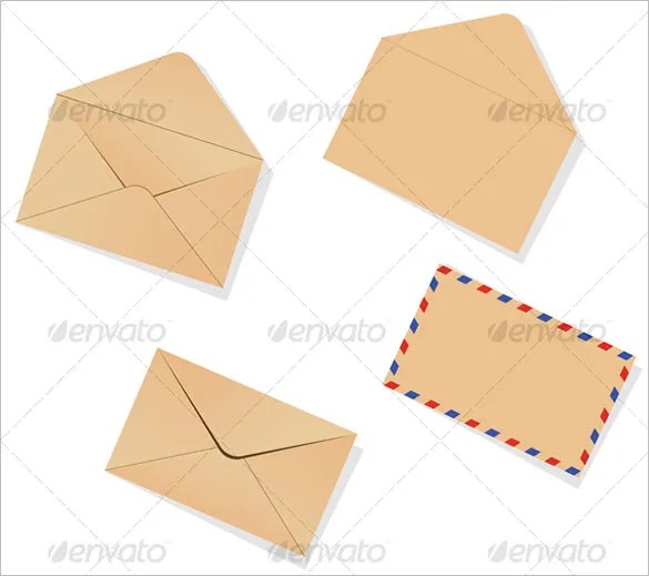 11+ Small Envelope Templates - PSD, EPS Free  Premium Templates - small envelope template