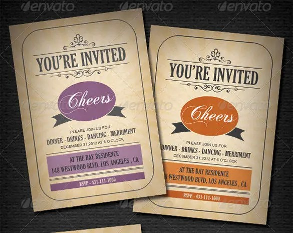37+ Invitation Card Templates \u2013 PSD, EPS Free  Premium Templates