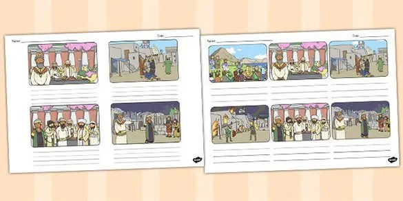 Wedding Storyboard Template \u2013 8+ Free Sample, Example, Format - anime storyboard
