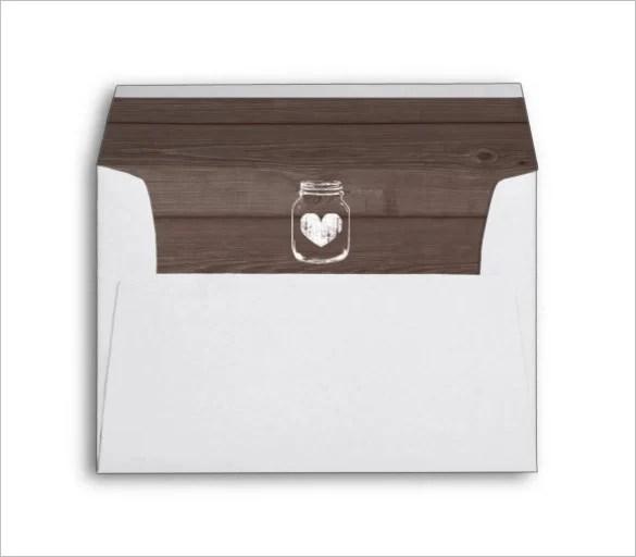 Envelope Liner Template - 14+ Free Printable, Sample, Example - sample 5x7 envelope template