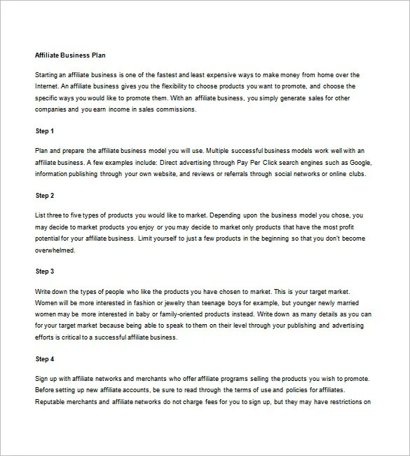 Marketing Business Plan Template - 9+ Free Word, Excel, PDF Format