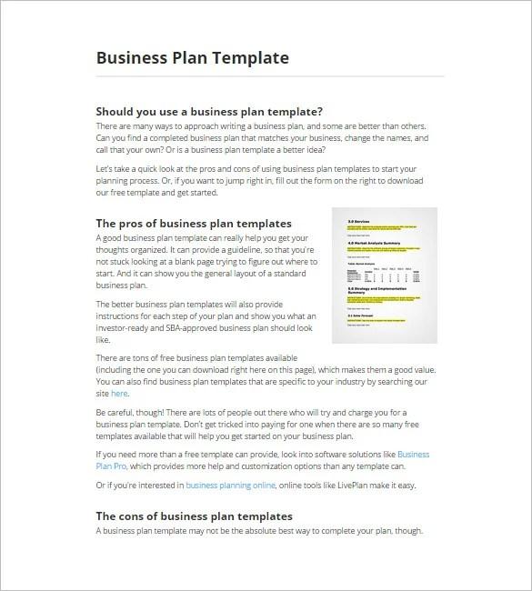 11+ Top Business Plan Maker, Tools  Software Free Free  Premium