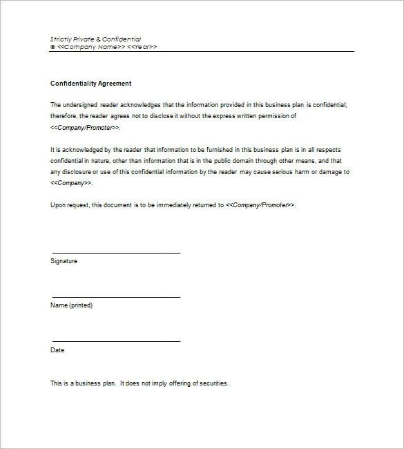 Microsoft Business Plan Template \u2013 18+ Free Word, Excel, PDF Format