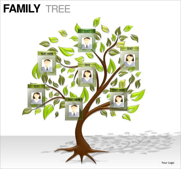 Poster size family tree template - cafenewsinfo - free family tree maker with pictures