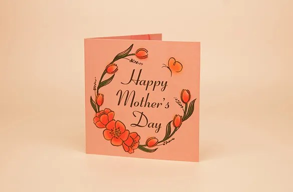 Mothers Day Card Template - 25+ Free Printable, Sample, Example - mother sday cards