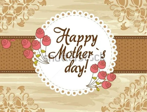 Mothers Day Card Template - 25+ Free Printable, Sample, Example - mothers day card template