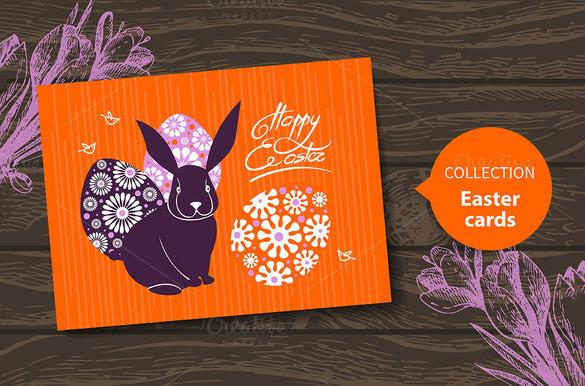 Easter Card Templates u2013 24+ Free Printable Sample, Example, Format - sample easter postcard template