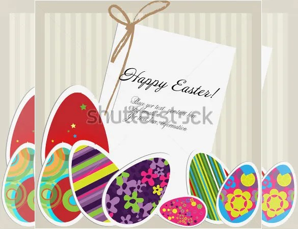 Easter Card Templates \u2013 24+ Free Printable Sample, Example, Format