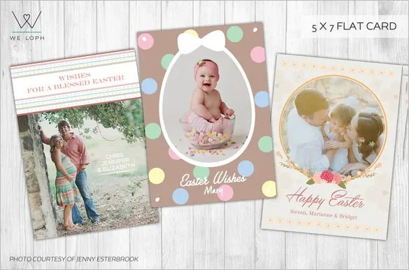 Easter Card Templates u2013 24+ Free Printable Sample, Example, Format - easter greeting card template