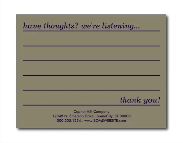 sample comment cards - Tikirreitschule-pegasus