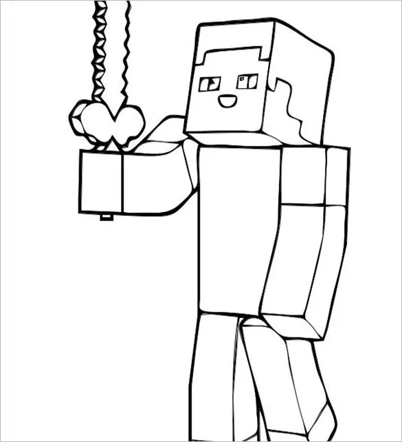minecraft steve coloring pages sketch coloring page autominecraft steve with armor coloring pages coloring pages