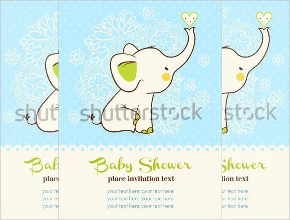 20+ Baby Shower Card Templates - PSD, AI Free  Premium Templates