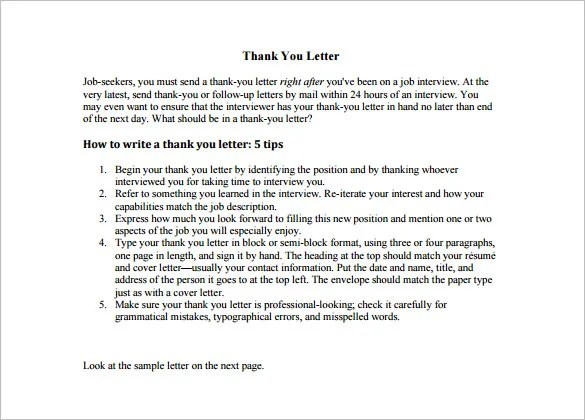 Thank You Letter To Teacher u2013 9+ Free Sample, Example Format - ending thank you letters