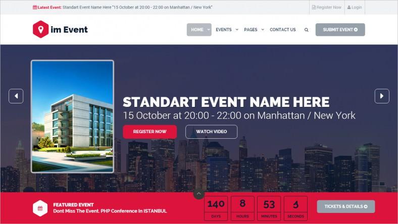 10 New Website Templates  Themes Free  Premium Templates - property management websites templates