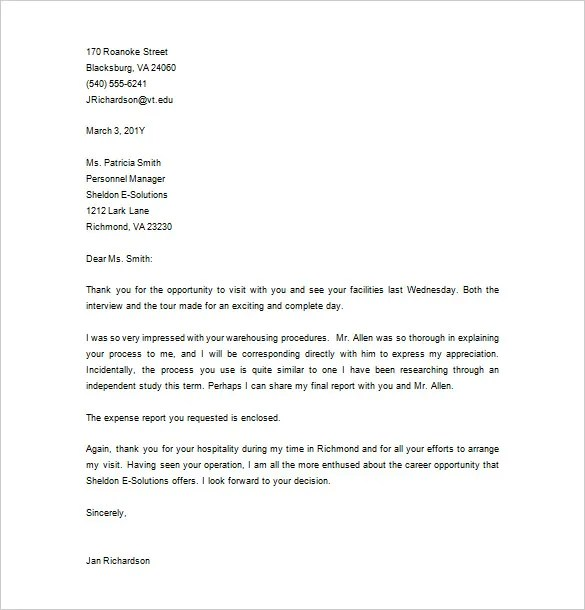 thankyou letter after interview - Goalgoodwinmetals - Sample Thank You Letter After Interview