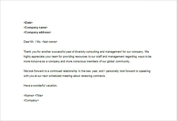 Sample Business Thank You Letter \u2013 11+ Free Sample, Example Format - business thank you note