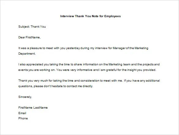 Thank You Letter To Employee u2013 10+ Free Sample, Example Format - employee thank you letter