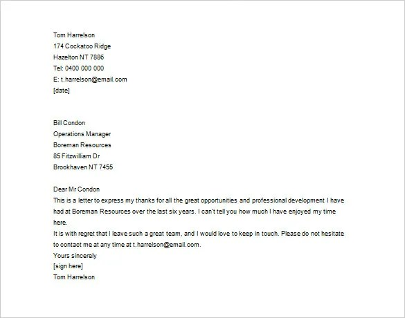 11+ Thank You Letter To Employee - PDF, DOC Free  Premium Templates - thank you letter to employer