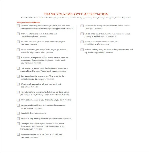 thank you letter appreciation 43 Thank you letter appreciation - employee thank you letter