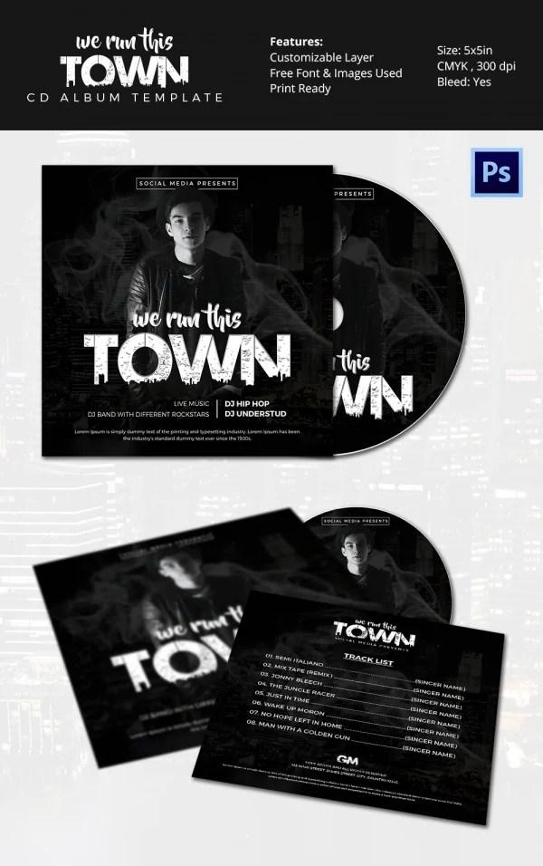 51+ Album Cover Templates - PSD Free  Premium Templates