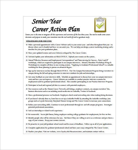 sample career development plan - zrom