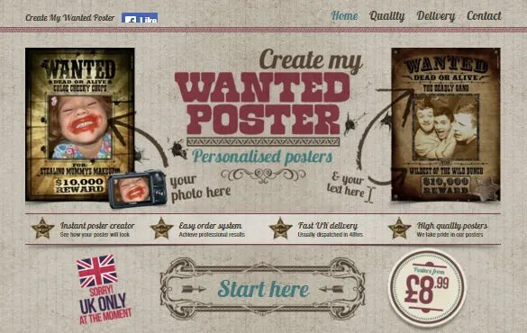 13+ Wanted Poster Generators, Makers  Tools Free  Premium Templates