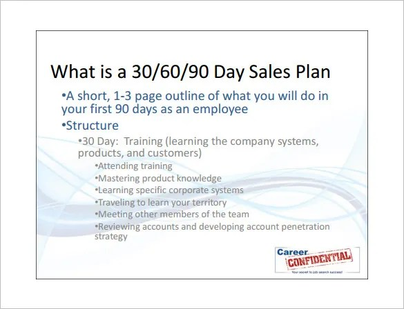 Sales Action Plan Template – 7+ Free Sample, Example, Format Free