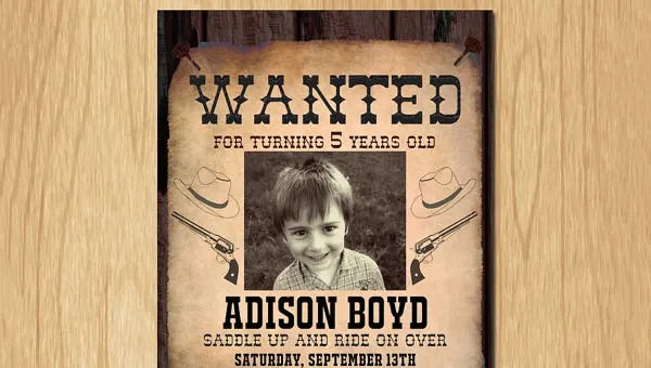 14+ Old Wanted Poster Templates - Free Printable, Sample, Example