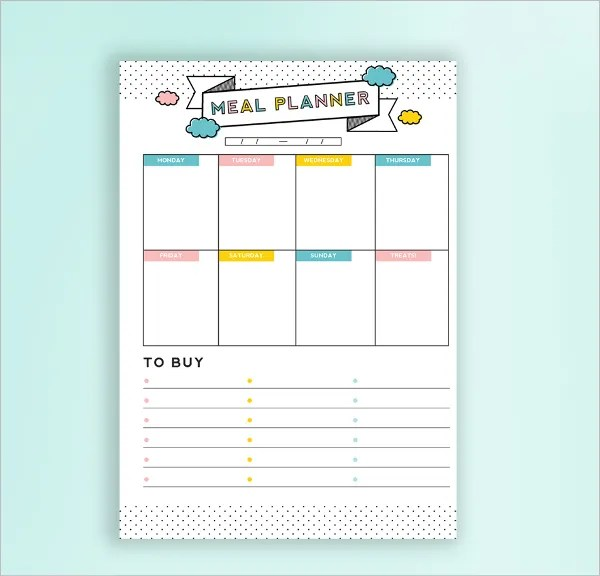Daily Budget Planner Template - 5+ Free PSD, AI, EPS Format Download